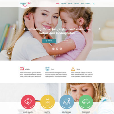 free wordpress theme for children