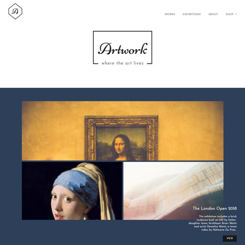 photo art portfolio free wordpress theme