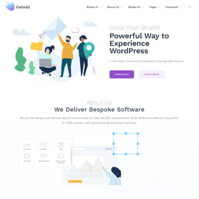 free marketing wordpress theme