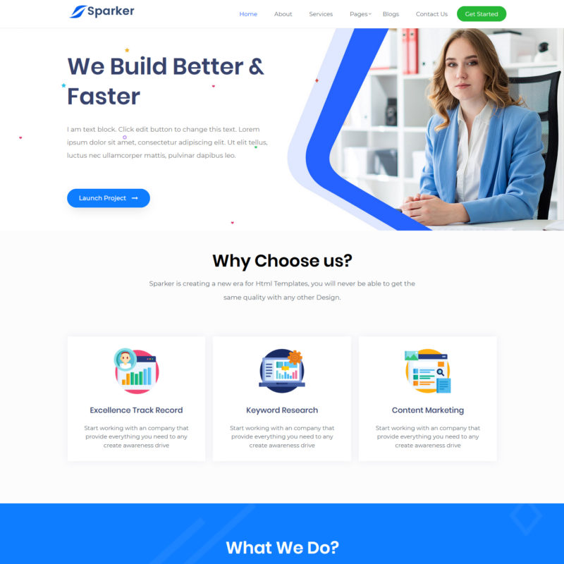 free marketing agency wordpress theme
