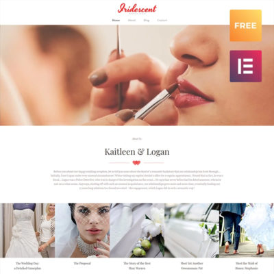 free wedding wordpress